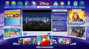 Disney.com Lightyear Homepage