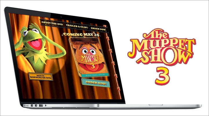 Muppets 3 DVD Site