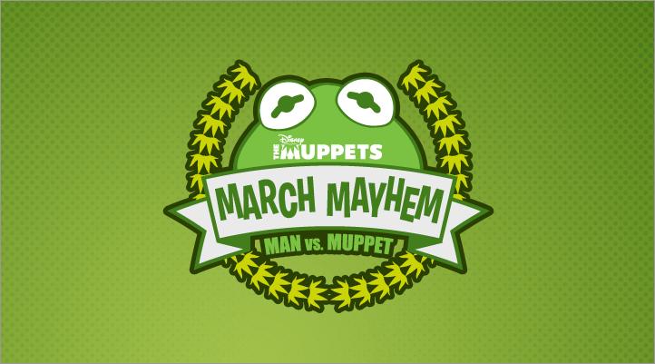 Muppets March Mayhem Facebook Campaign Logo