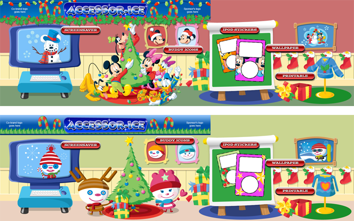 Disney.com Activity Illustration