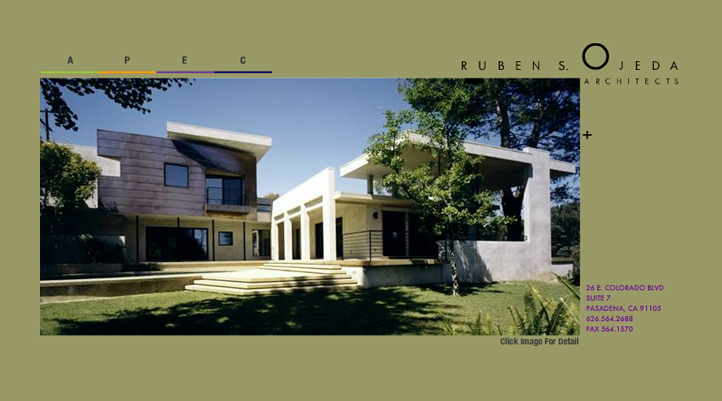 Ruben Ojeda Architects Web Site