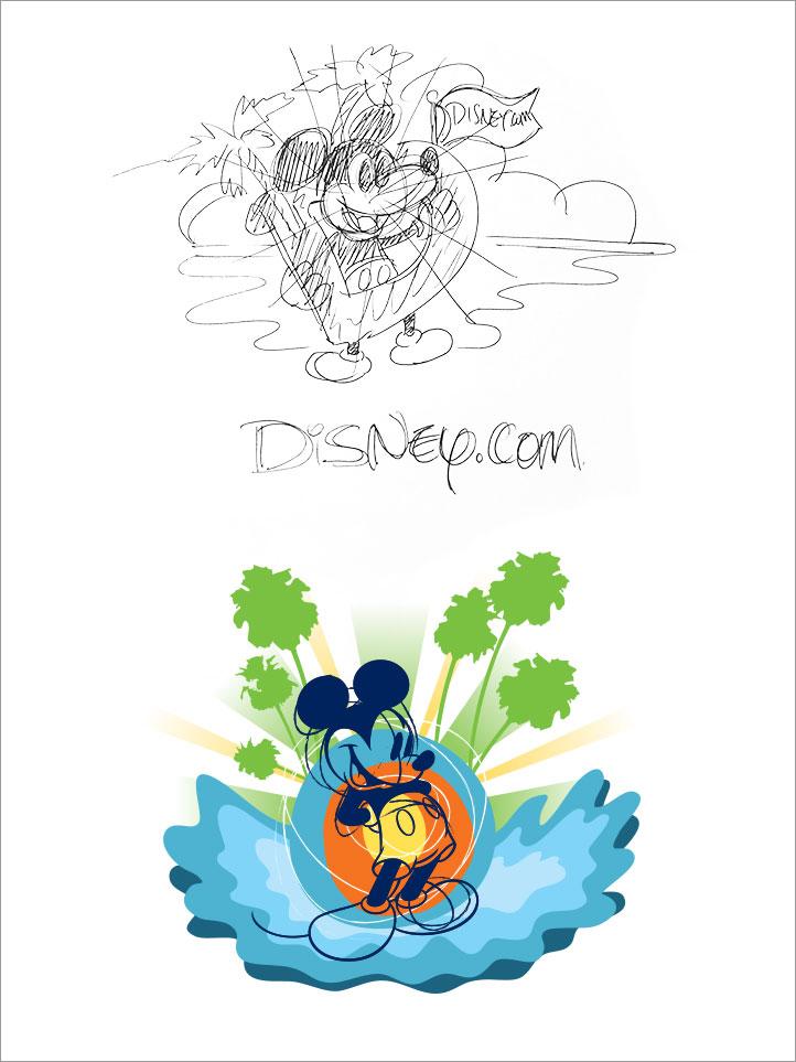 Dcom T-Shirt Sketch